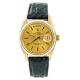 Rolex Day-date 18078 Gold 36mm Watch