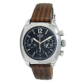 Tag Heuer Monza Stainless Steel Automatic Chronograph Men's Watch CR2110