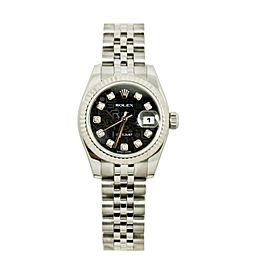 Rolex Datejust 79174 Gold 26mm Womens Watch