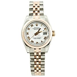 Rolex Datejust 179171 Steel 26mm Womens Watch