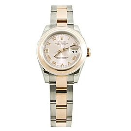 Rolex Datejust 179161 Steel 100mm Womens Watch