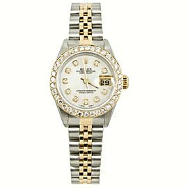Rolex Datejust 69163 Steel 26mm Womens Watch