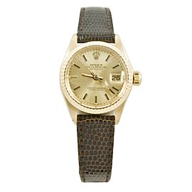 Rolex Datejust 6917 Two Tone 26mm Womens Watch