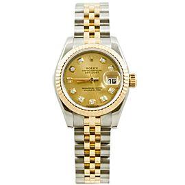 Rolex Datejust 179173 Steel 26mm Womens Watch