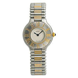 Cartier Must 21 9010 Steel 28mm Womens Watch