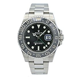 Rolex GMT-Master II Date Stainless Steel w/ Black Dial 116710LN