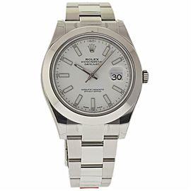 Rolex Datejust Ii 116300 Steel 41.0mm Watch