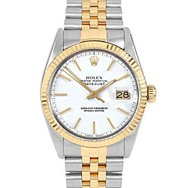 Rolex Datejust 16013 Steel 36mm Watch