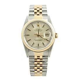 Rolex Datejust 16233 Steel 36mm Watch