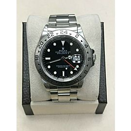 Rolex Explorer II Black Dial 16570 Stainless Steel