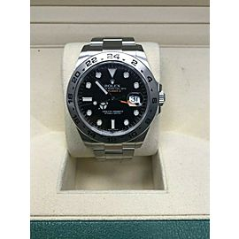 Rolex Explorer II 216570 Black Dial Stainless Steel