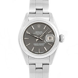 Rolex Date 69160 Steel 26mm Women Watch