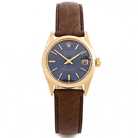 Rolex Datejust 6827 Gold 31mm Women Watch (Certified Authentic & Warranty)