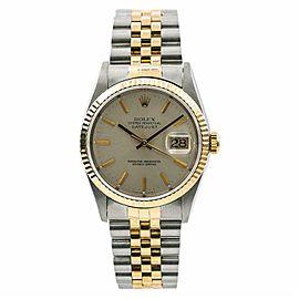 Rolex Datejust 16233 Steel 36.0mm Watch (Certified Authentic & Warranty)