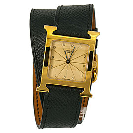 Hermes H Hour HH1.501 Gold 26mm Women Watch (Certified Authentic & Warranty)