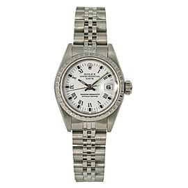 Rolex Date 69240 Steel 26mm Women Watch (Certified Authentic & Warranty)