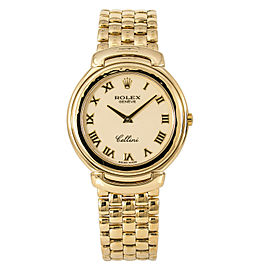 Rolex Cellini 6623/8 Gold 37mm Watch (Certified Authentic & Warranty)