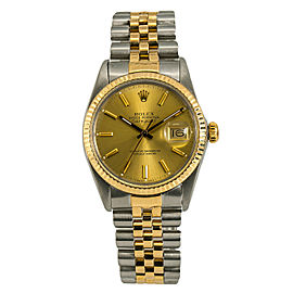 Rolex Datejust 16013 Steel 36mm Watch (Certified Authentic & Warranty)