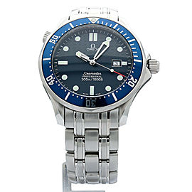 Omega Seamaster 2541.80. Steel 41.0mm Watch (Certified Authentic & Warranty)