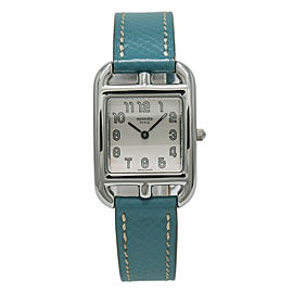 Hermes Cape Cod CC1. 210 Steel 23mm Women Watch (Certified Authentic & Warranty)