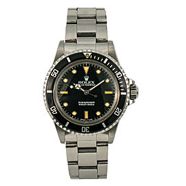 Rolex Submariner 5513 Steel 40mm Watch (Certified Authentic & Warranty)