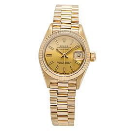 Rolex Datejust 69178 Gold 26mm Women Watch (Certified Authentic & Warranty)