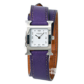 Hermes Heure HH1-210 Steel 21mm Women Watch (Certified Authentic & Warranty)