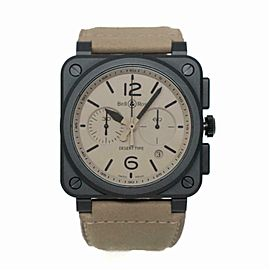 Bell & Ross Br 03 BR0394-D Ceramic Watch (Certified Authentic & Warranty)