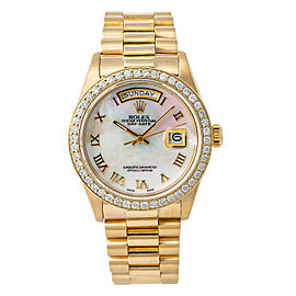 Rolex Day-date 18038 Gold 36mm Watch (Certified Authentic & Warranty)