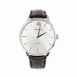 Montblanc Meisterstuck 110695 Steel Watch (Certified Authentic & Warranty)