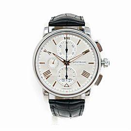 Montblanc 4810 114855 Steel Watch (Certified Authentic & Warranty)