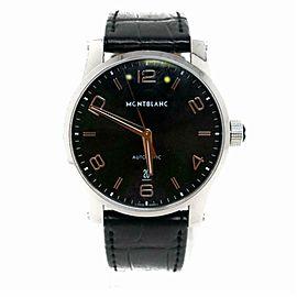 Montblanc Timewalker 110337 Steel Watch (Certified Authentic & Warranty)