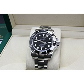 Rolex Submariner 114060 Black Ceramic Stainless Steel