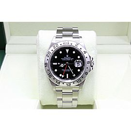 Rolex Explorer II 16570 Stainless Steel Black Dial