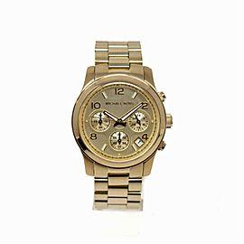 Michael Kors Runway MK5055 Steel Women Watch (Certified Authentic & Warranty)