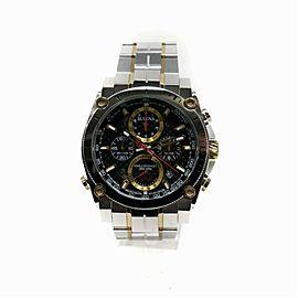Bulova Precisionist 98B228 Steel Watch (Certified Authentic & Warranty)