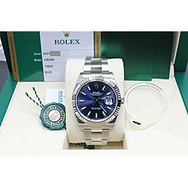 Rolex Datejust 41mm 126334 Blue Dial Stainless Steel