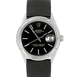 Rolex Date 1501 Steel 34mm Watch (Certified Authentic & Warranty)