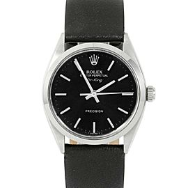 Rolex Air-king 5500 Steel 34mm Watch (Certified Authentic & Warranty)