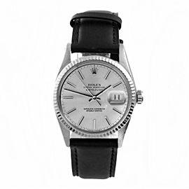 Rolex Datejust 16014 Steel 36mm Watch (Certified Authentic & Warranty)