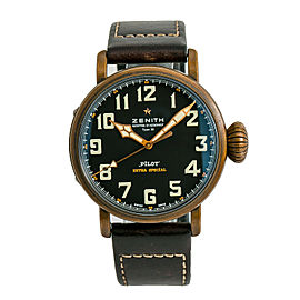 Zenith Type 20 29.2430. Copper 45mm Watch (Certified Authentic & Warranty)