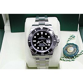 Rolex Submariner 116610 Black Ceramic Stainless Steel