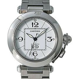 Cartier Pasha W31055M7 Steel 35mm Women Watch (Certified Authentic & Warranty)