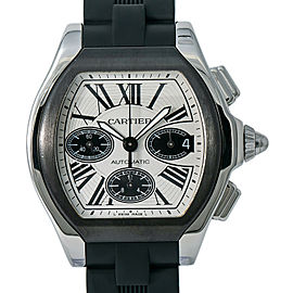 Cartier Roadster W6206020 Steel 44mm Watch (Certified Authentic & Warranty)