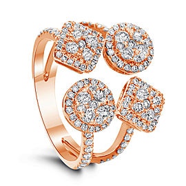 Fashion ring with 1.15ct. of Total Diamond Weight