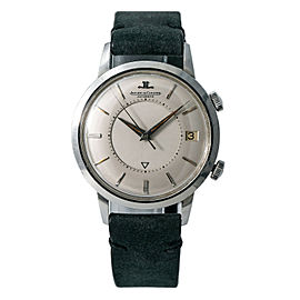 Jaeger Lecoultre Memovox K825 Steel 37mm Watch (Certified Authentic & Warranty)