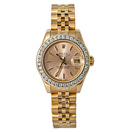 Rolex Datejust 179178 Gold 27mm Women Watch (Certified Authentic & Warranty)
