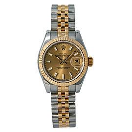 Rolex Datejust 179173 Steel 26mm Women Watch (Certified Authentic & Warranty)