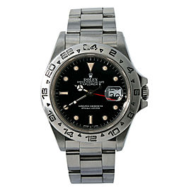 Rolex Explorer Ii 16550 Steel 40mm Watch (Certified Authentic & Warranty)