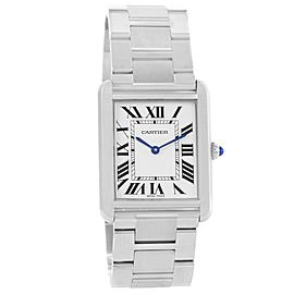 Cartier Tank Solo W5200014 Steel 28mm Watch (Certified Authentic & Warranty)